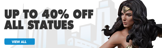 Up to 40% off all statues