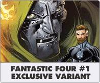 Fantastic four No 1 Exclusive Variant