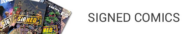 Signed Comics
