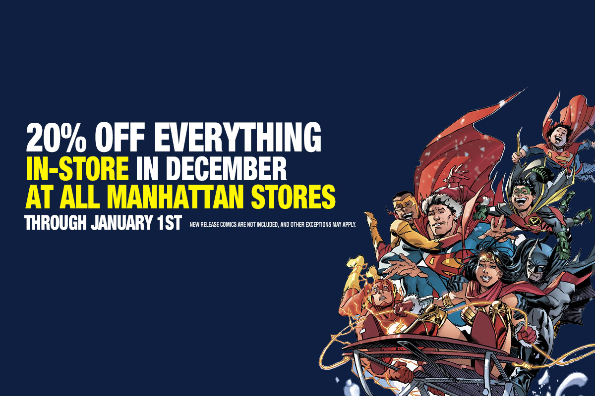 20% off everything in-store all month