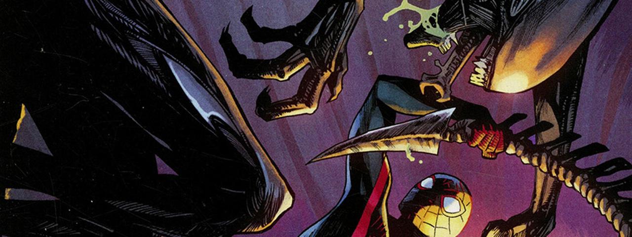 Marvel vs Alien Variant Covers