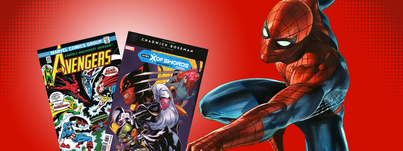 20% off Marvel back issues