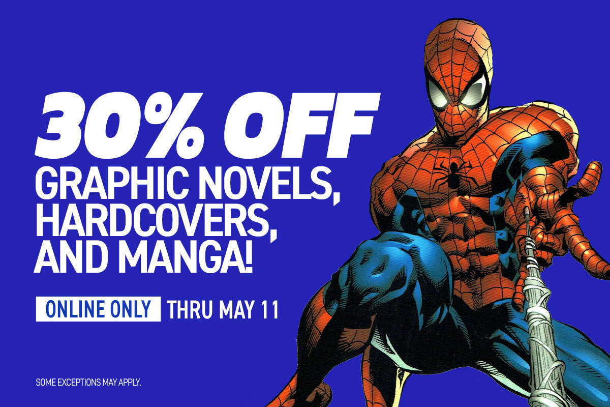 30% off all graphic novels