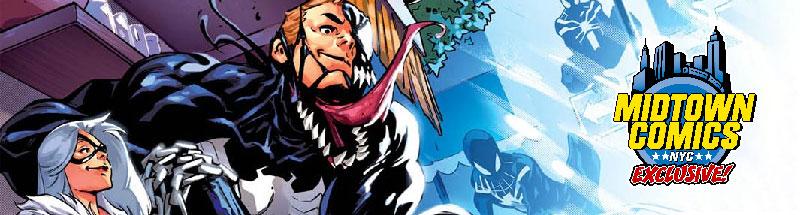 Venom #1 Midtown exclusive variant