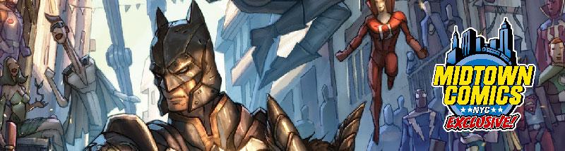 Dark Knights of Steel #1 Midtown exclusive variant