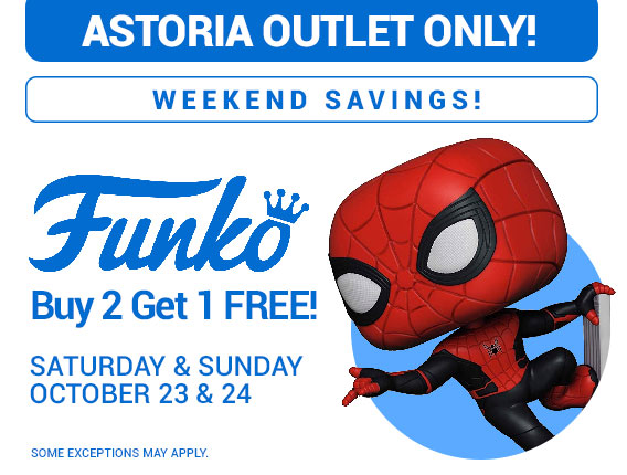 Astoria Weekend Sales