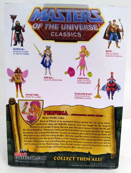 MASTERS OF THE UNIVERSE CLASSICS SWEET BEE FIGURE W// BROWN MAILER *NEW*