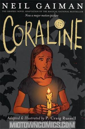 Coraline Graphic Novel TP