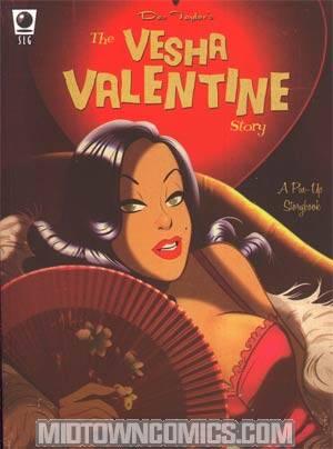 Vesha Valentine Story A Pin-Up Storybook GN