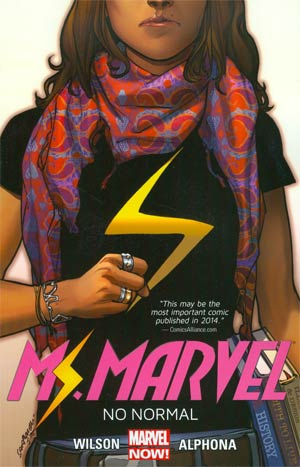 Ms Marvel (2014) Vol 1 No Normal TP