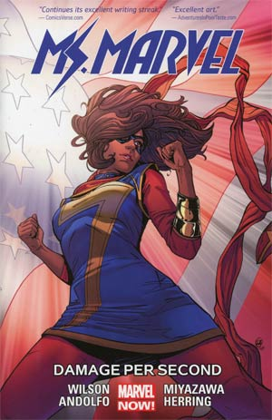 Ms Marvel (2014) Vol 7 Damage Per Second TP