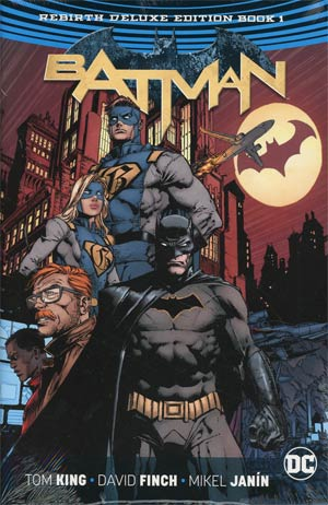 Batman Rebirth Deluxe Collection Book 1 HC
