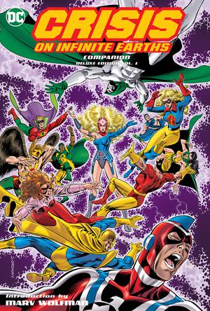 Crisis On Infinite Earths Companion Deluxe Edition Vol 1 HC