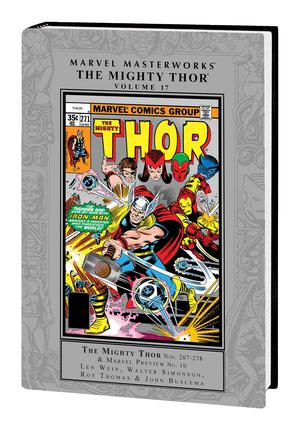 Marvel Masterworks Mighty Thor Vol 17 HC Regular Dust Jacket