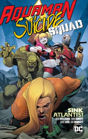 Aquaman Suicide Squad Sink Atlantis TP (Rebirth)
