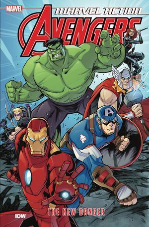 Marvel Action Avengers Book 1 New Danger TP