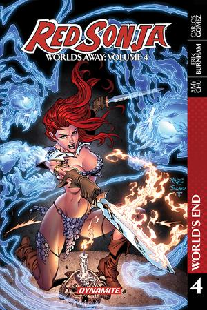 Red Sonja Worlds Away Vol 4 Blade Of Skath TP