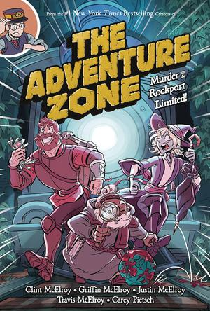 Adventure Zone Vol 2 Murder On The Rockport Limited TP