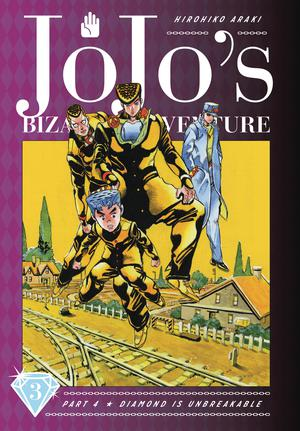 JoJos Bizarre Adventure Part 4 Diamond Is Unbreakable Vol 3 HC