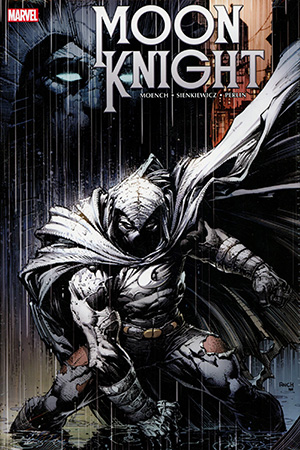 Moon Knight Omnibus Vol 1 HC Book Market David Finch Cover