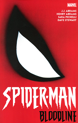 Spider-Man Bloodline TP Direct Market Chip Kidd Variant Cover