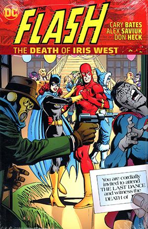 Flash The Death Of Iris West HC