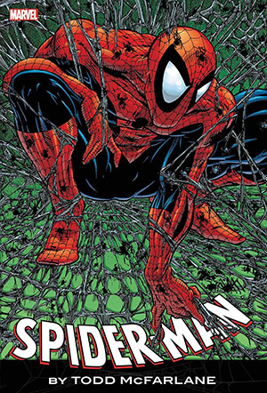 Spider-Man By Todd McFarlane Omnibus HC Book Market Todd McFarlane Red & Blue Costume Cover New Prin