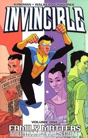 Invincible Vol 1 Family Matters TP New Ptg
