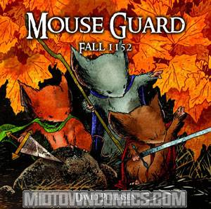 Mouse Guard Vol 1 Fall 1152 HC New Printing