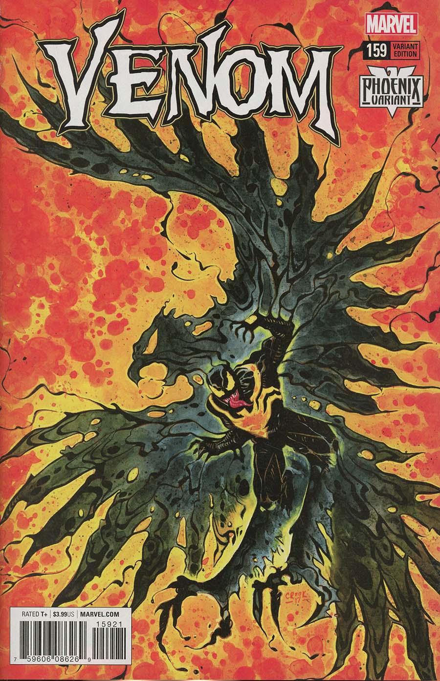 Venom Vol 3 #159 Cover B Variant Tyler Crook Phoenix Cover
