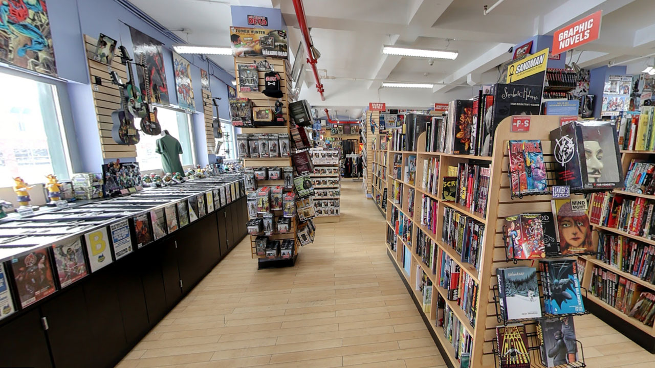 Comic's Section