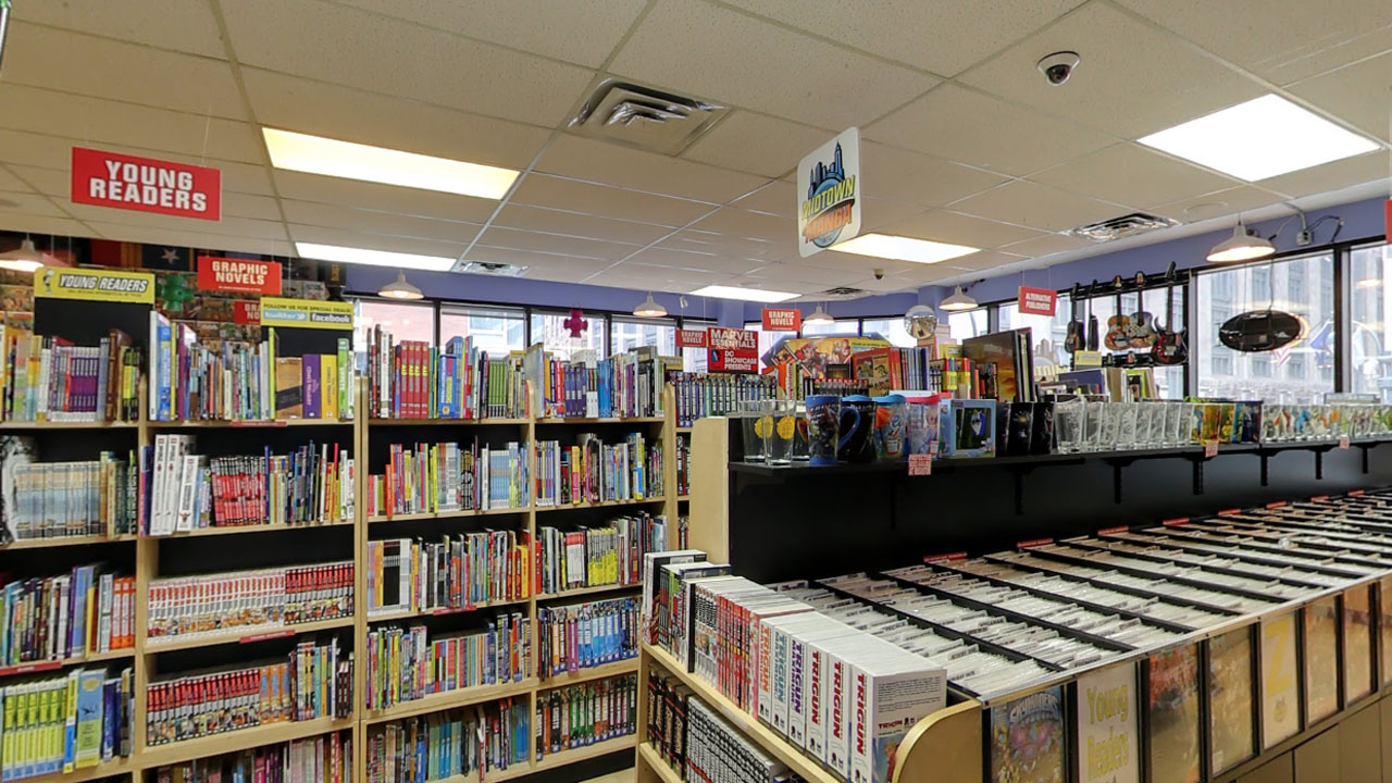 Comic Section